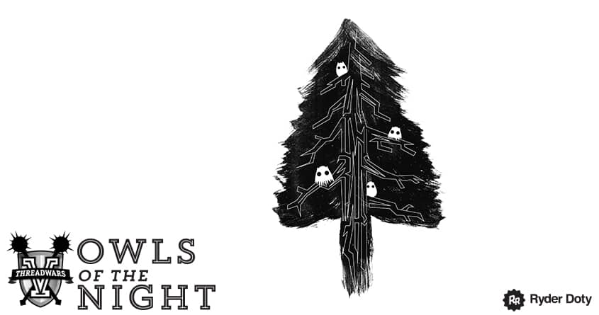 Owls of the Night by Ryder on Threadless