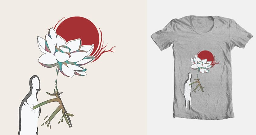 Lotus by m0__0 on Threadless
