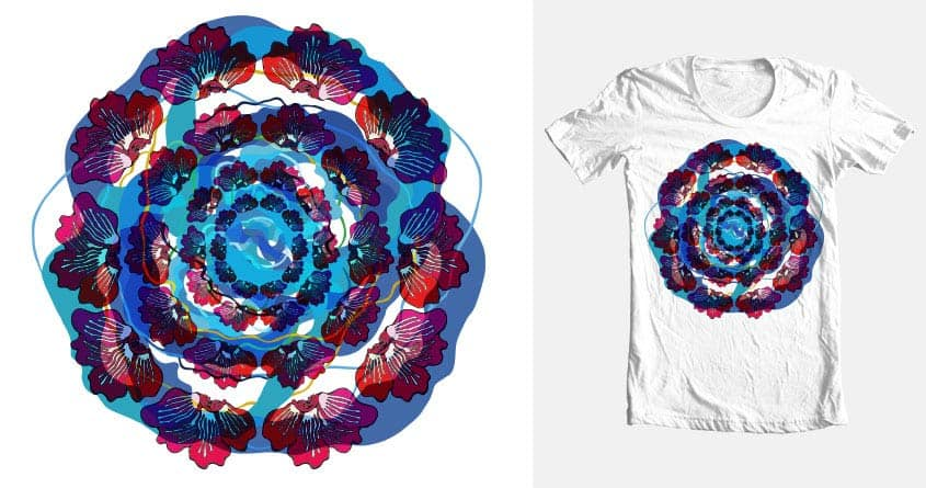 Ripples of summer by omames on Threadless