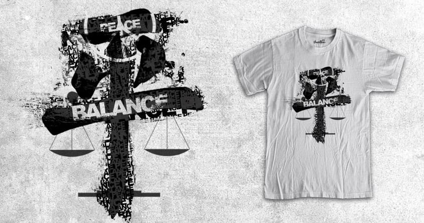 peace and balance by jerbing33 on Threadless