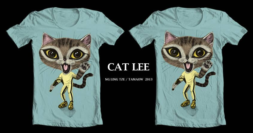 Cat Lee by tamaow on Threadless
