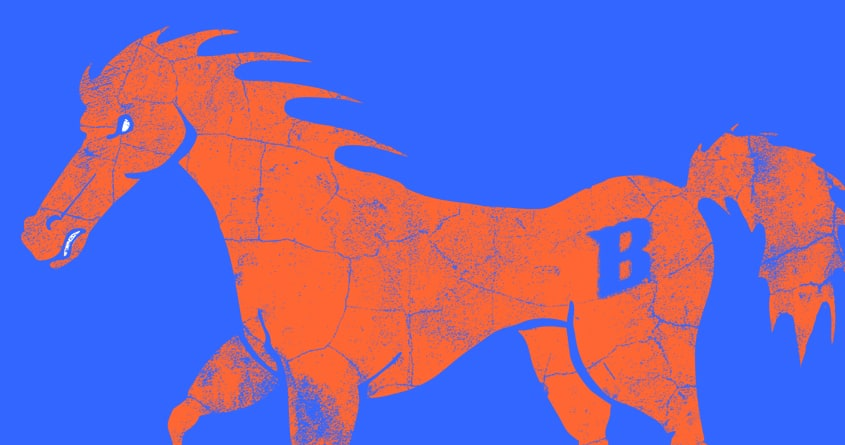 Broncos! by veciocoldobro on Threadless