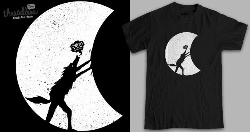 Werewolf Moonlight by RL76 on Threadless