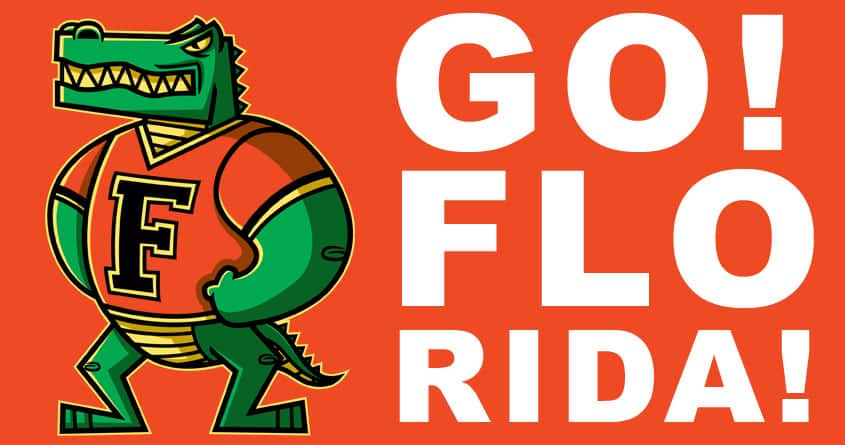 Go! Florida! by krisren28 on Threadless