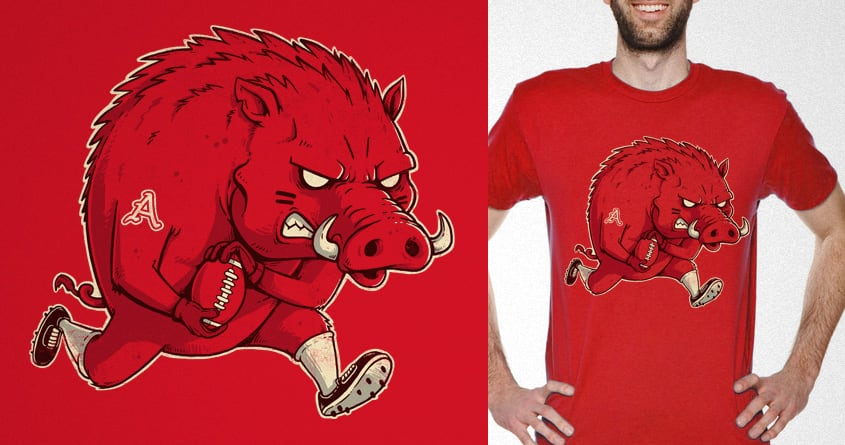 Big Red by temyongsky on Threadless
