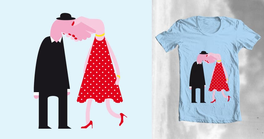 Nice to meet you by theodesimpel on Threadless