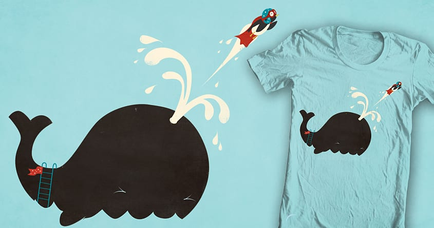 Avian Cannonball by DontCallMeBlanket on Threadless