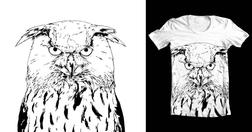 Eagle-Owl by Tom Henderson on Threadless