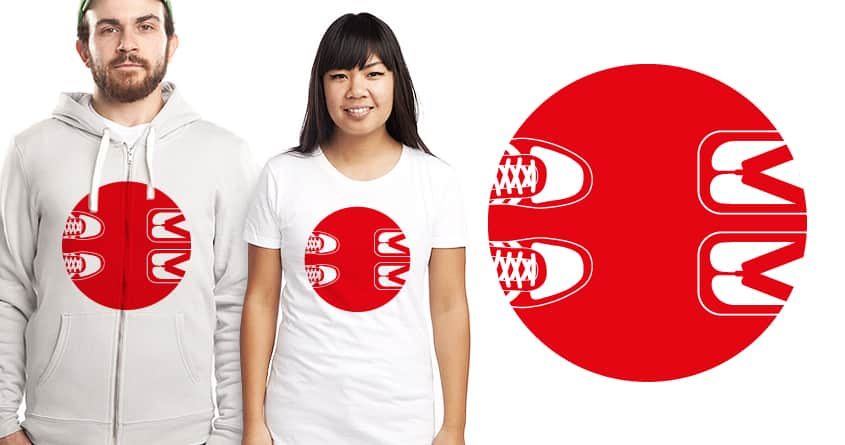 East meets West by janamis on Threadless