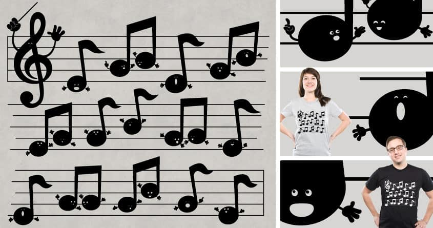 All Together Now by Goto75 on Threadless