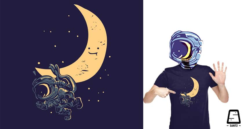 New Moon V2 by sant2 on Threadless