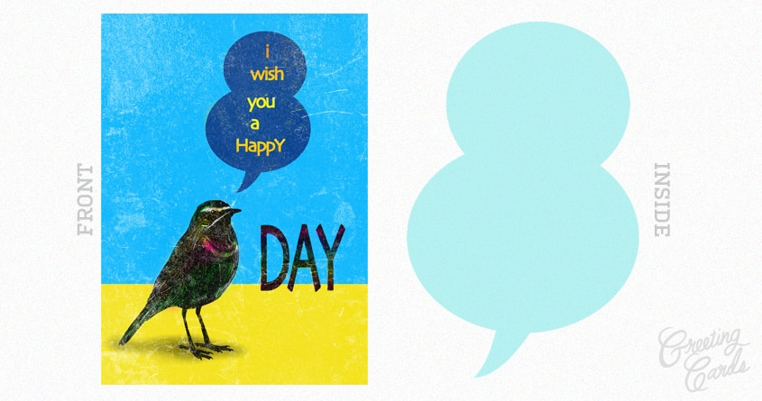 happy birdday by kharmazero on Threadless