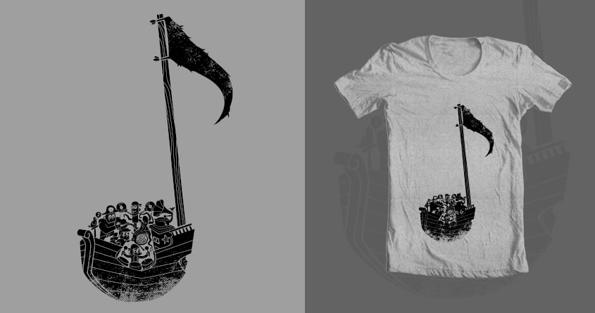 Pirate Symphony by weird&co on Threadless