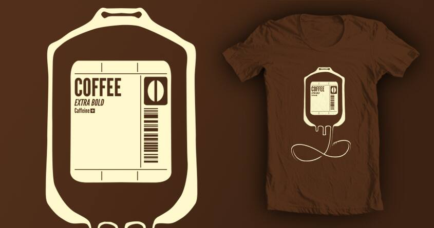 Coffee Transfusion by tobiasfonseca on Threadless