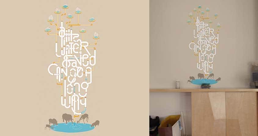 Cause to Conserve Water by BrianLo on Threadless