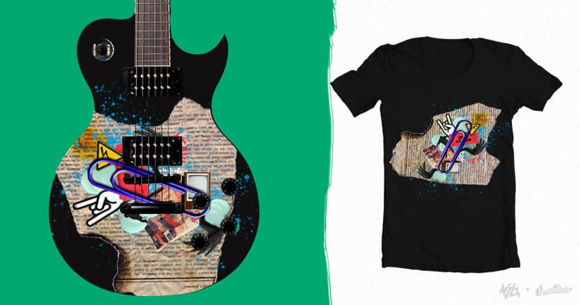 Guitar!! by jaume020 on Threadless