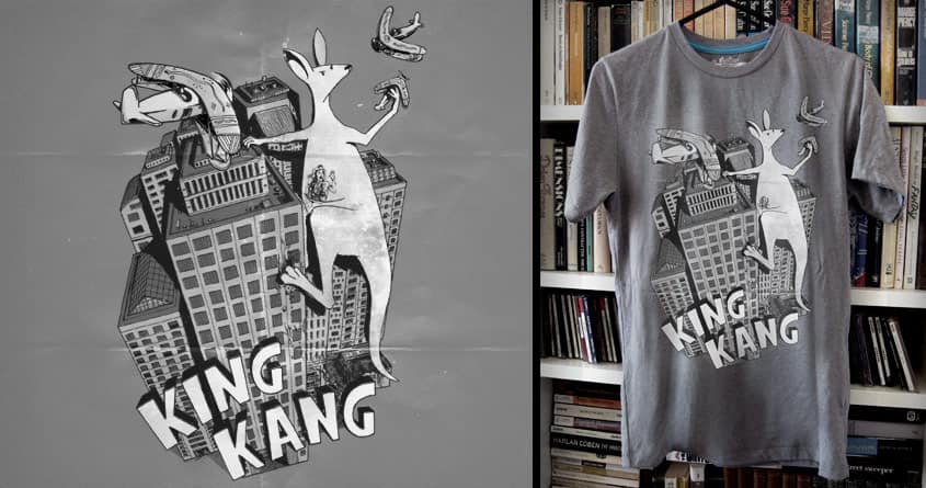 King Kang by Raulio and NomadSlim on Threadless