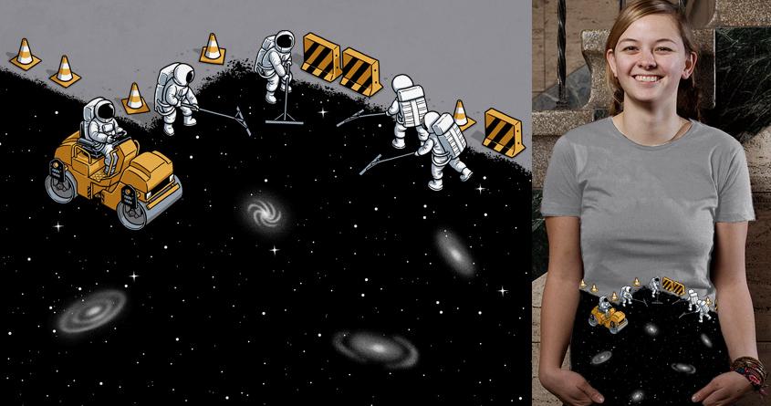 Asphalt Universe by ben chen on Threadless