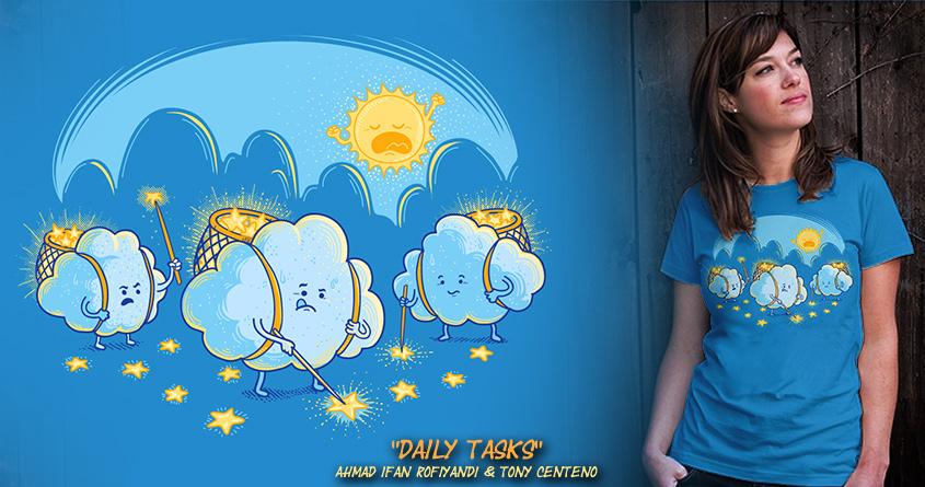 Daily Task by Tony Centeno and dudeowl on Threadless