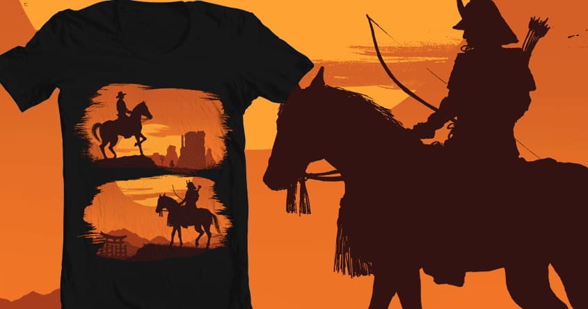Lone Warriors by Moutchy on Threadless