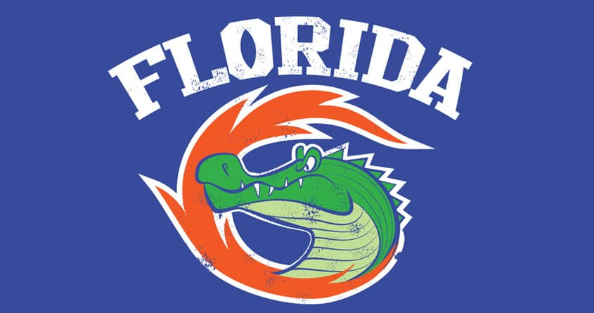 Florida Gators by sonofeastwood on Threadless