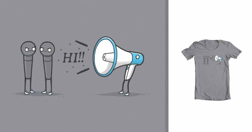 Loud mouth by randyotter3000 on Threadless