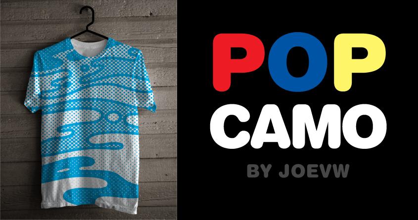 Pop Camo by speedyjvw on Threadless