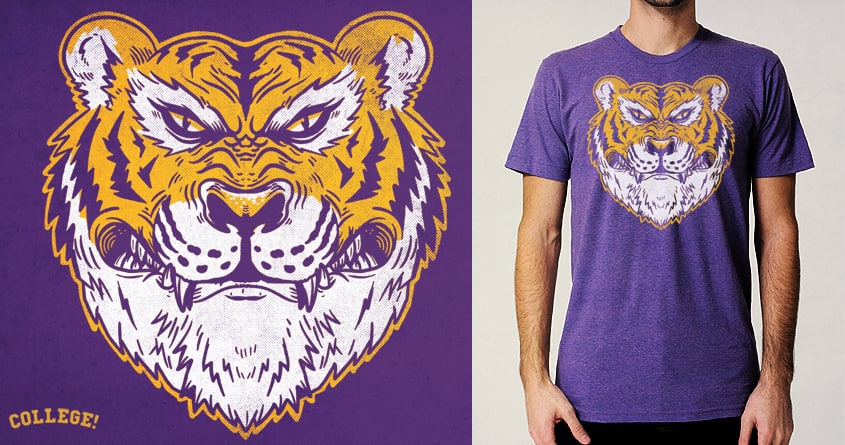 Mike The Tiger by alexmdc on Threadless