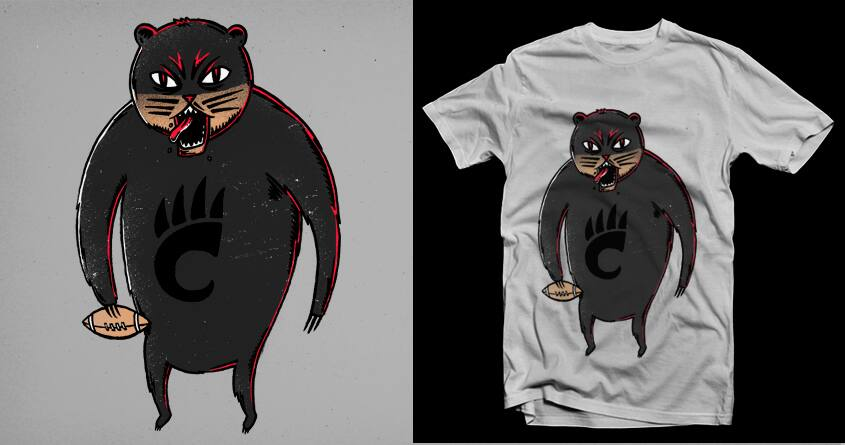 Bearcats! by Raulio on Threadless