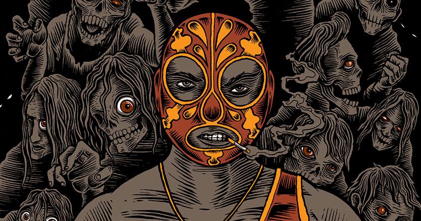 El Rey vs the dead by David Maclennan on Threadless