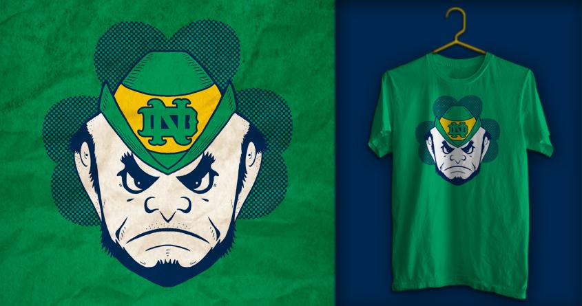 The Angry Irishman by SteveOramA on Threadless