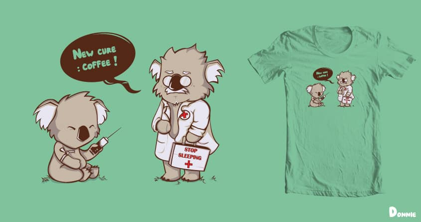 Stop Sleeping by DonnieArt on Threadless