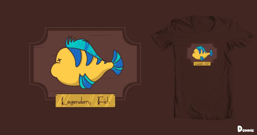 Legendary Fish by DonnieArt on Threadless