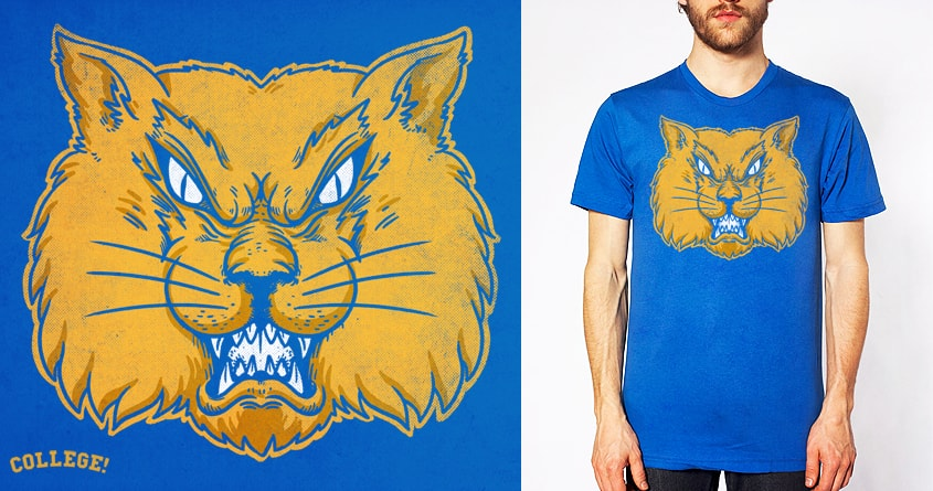 Wildcat by alexmdc on Threadless