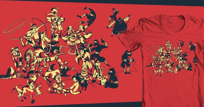 The Final Battle by cicca on Threadless