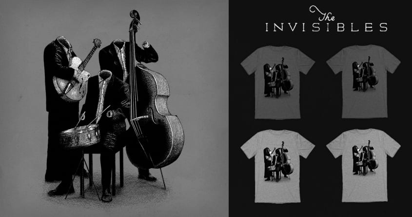 The Invisibles by speakerine on Threadless