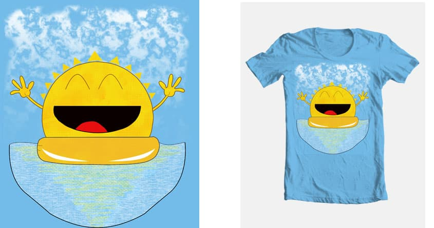 Happy sunset by anibal.quinones.7 on Threadless