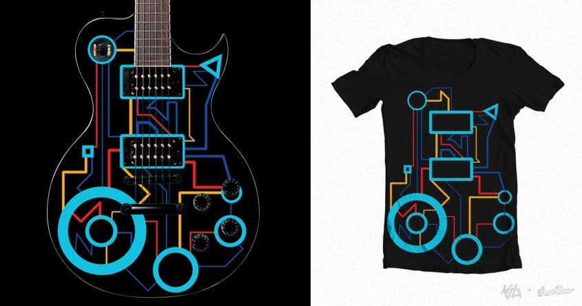 Abstract tech by Lorenzo1496 on Threadless