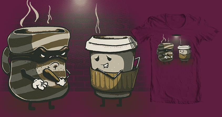 Mugging by kevlar51 and CoD Designs on Threadless