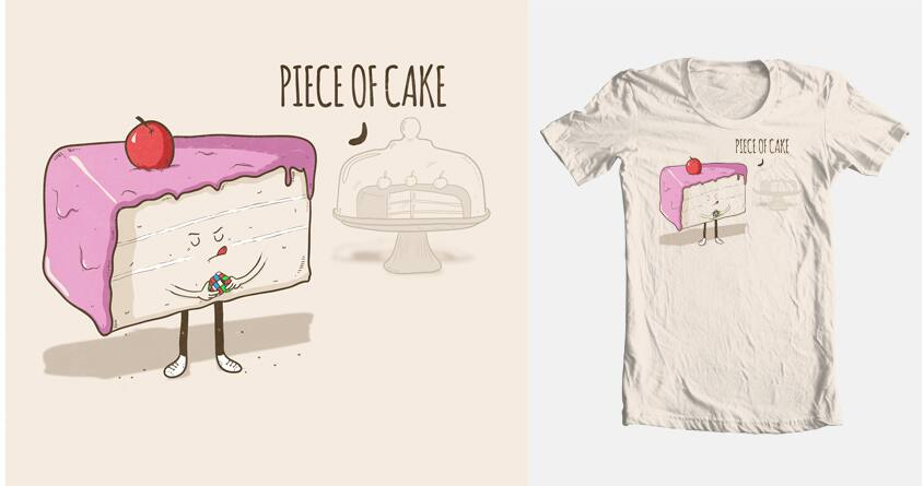 Piece of cake by BubbleHezza on Threadless
