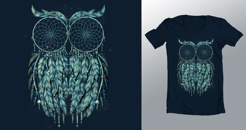 Owl Dream by qetza on Threadless