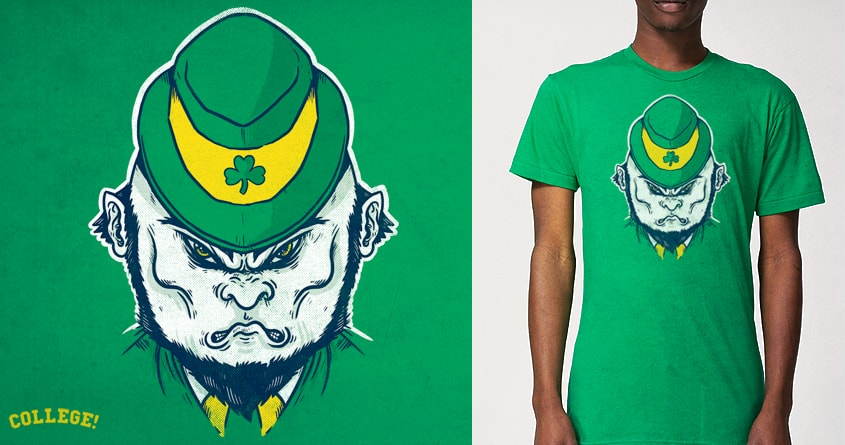 Fighting Irish by alexmdc on Threadless