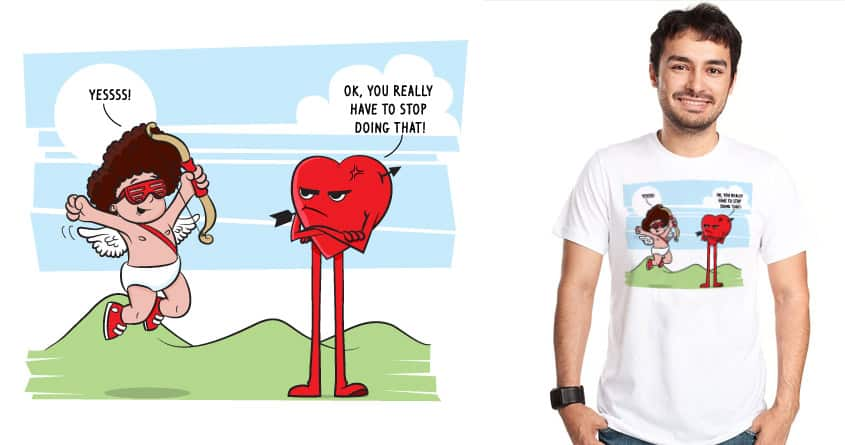 And the Heart Said... by KennyDesignsit on Threadless