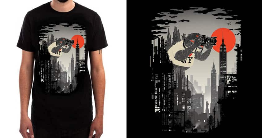 The Tourist by silentOp on Threadless