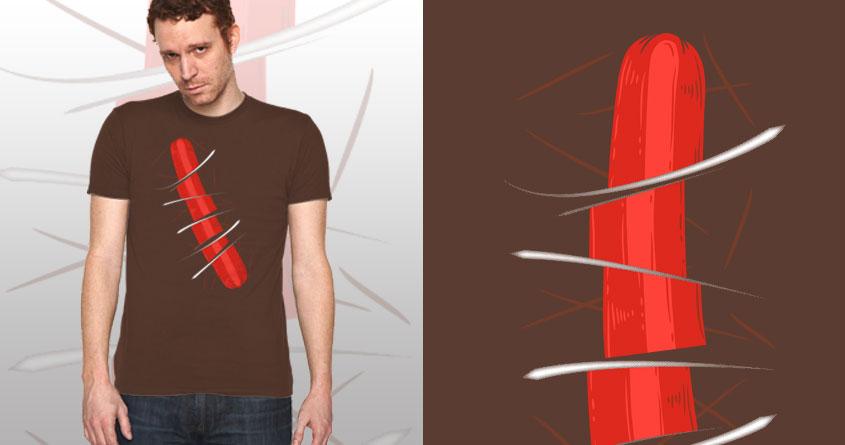 Hotdog Ninja by free_agent08 on Threadless