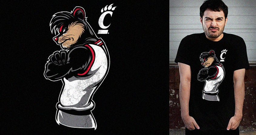 Go Bearcats! by rhobdesigns and lady_ice on Threadless