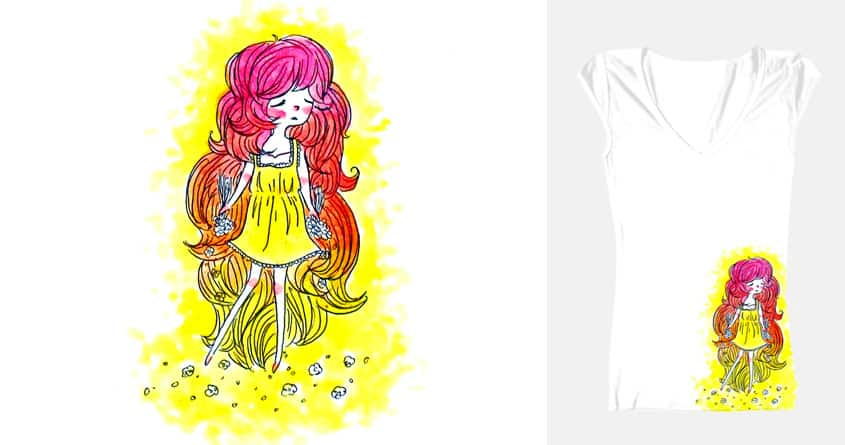 Flower Child by raincat on Threadless