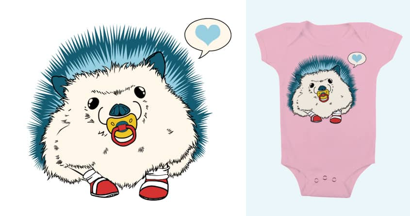 Baby Sonic by Loraila85 on Threadless