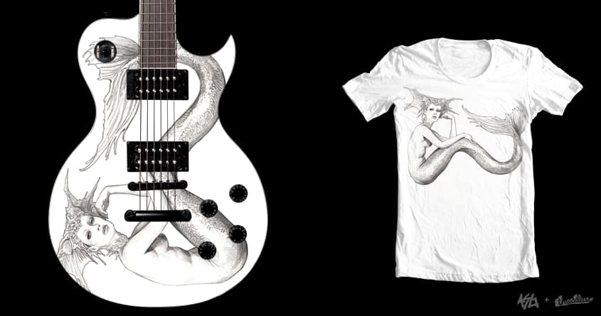 Mermaid's Song by Moutchy on Threadless