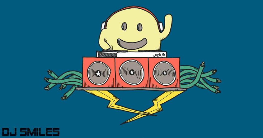DJ Smiles by eugenewee89 on Threadless